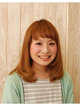 艶髪カラーヘア